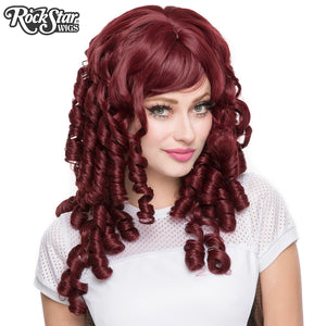 Gothic Lolita Wigs® <br> Ringlet Redux™ Collection - Burgundy -00120