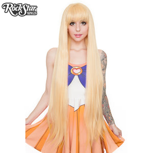 Cosplay Wigs USA® Inspired By Sailor Venus  - Yellow Blonde -00539