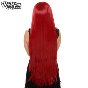 "Cosplay Wigs USA™ <br> Straight 100cm/40"" - Burgundy -00347"