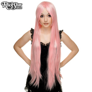 "Cosplay Wigs USA™ <br> Straight 100cm/40"" - Light Pink -00353"