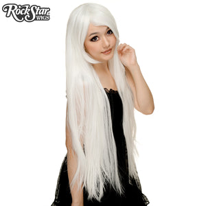 "Cosplay Wigs USA™ <br> Straight 100cm/40"" - White -00362"