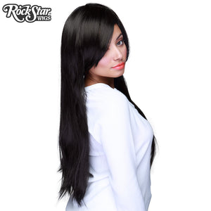 "Cosplay Wigs USA™ <br> Straight 70cm/28"" - Black -00337"