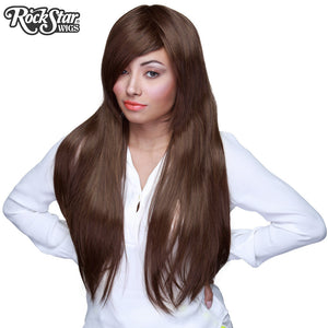"Cosplay Wigs USA™ <br> Straight 70cm/28"" - Dark Brown -00339"
