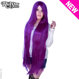"Cosplay Wigs USA™ <br> Straight 120cm/47"" - Purple Mix -00483"