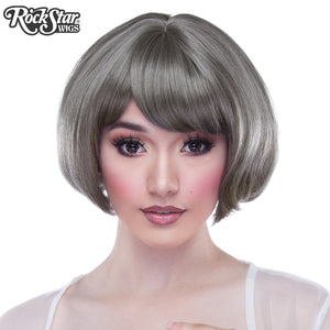 Gothic Lolita Wigs® <br> Lolibob™ - Dark Grey Mix -000396