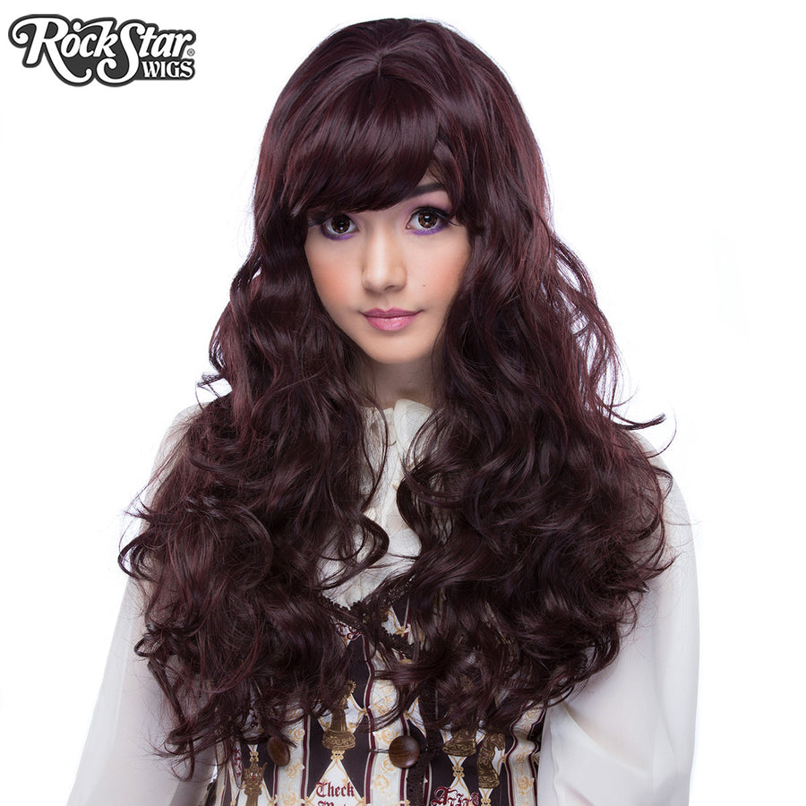 **RETIRED** Ulzzang Collection - Black Mahagony Burgundy Mix -00407