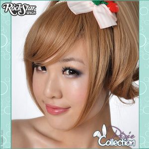 Gothic Lolita Wigs® <br> Pixie™ Collection - Bangs 2 (Milk Tea) -00074