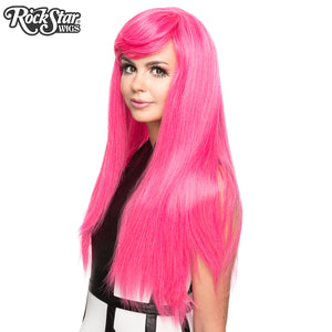 Gothic Lolita Wigs®  Bella™ Collection - Atomic Hot Pink -00677