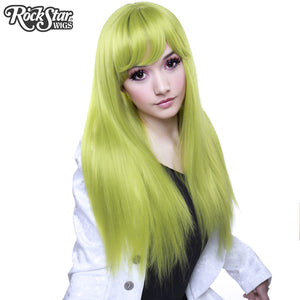 Gothic Lolita Wigs®  Bella™ Collection - Lime Green (Chartreuse) - 00605