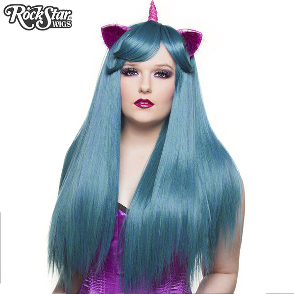 Gothic Lolita Wigs®  Bella™ Collection - Turquoise Mix - 00685