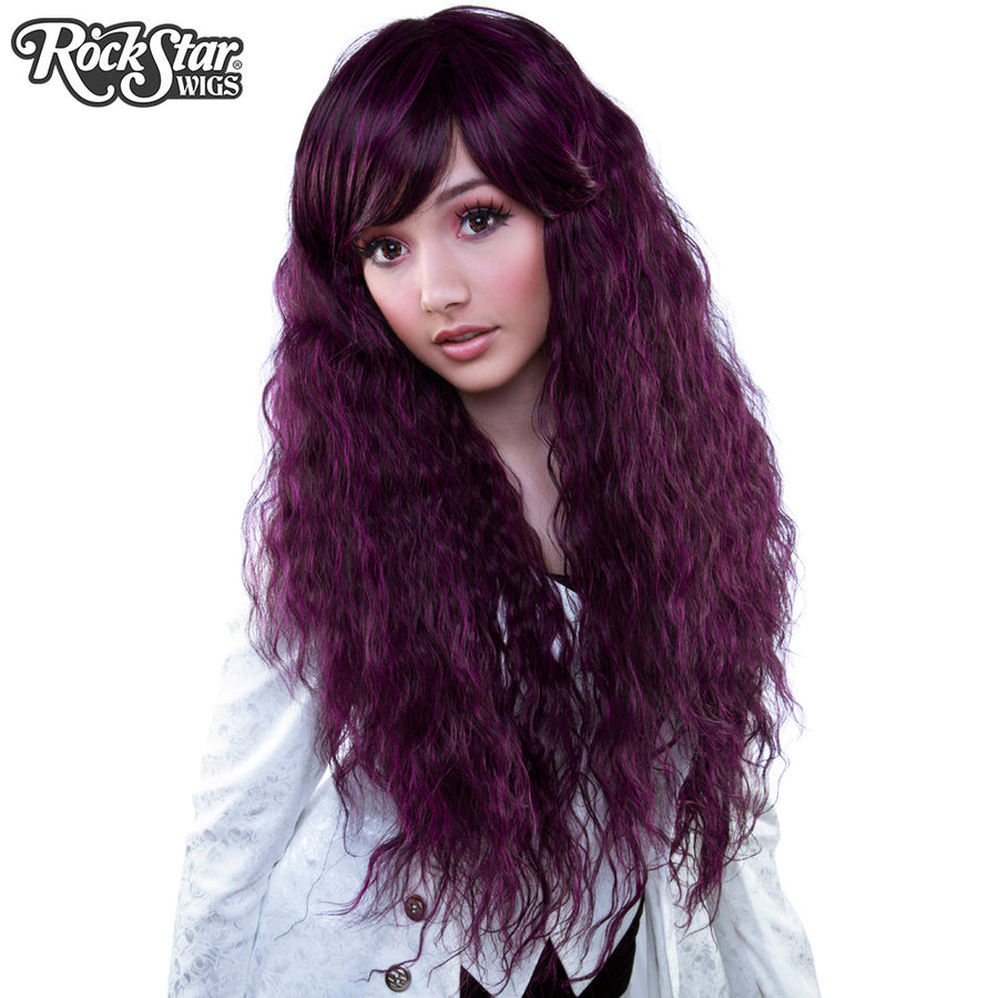 Gothic Lolita Wigs® <br> Rhapsody™ Collection - Black Plum -00099