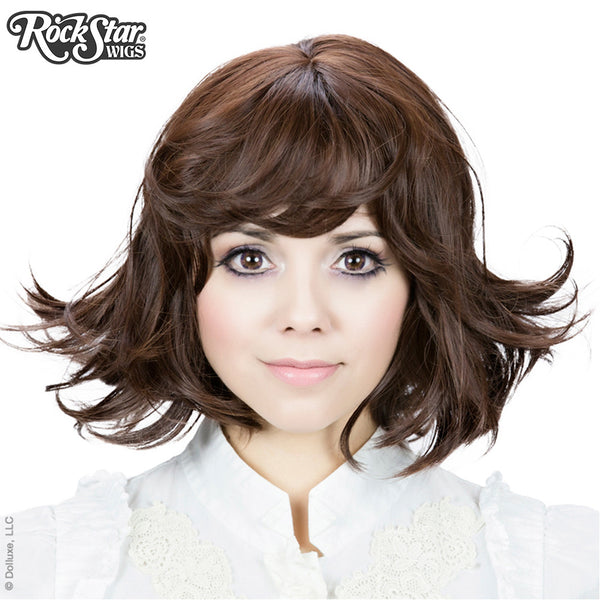 Gothic Lolita Wigs® Gamine Collection - Chocolate Brown Mix -00401