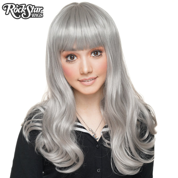 Gothic Lolita Wigs® <br> Straight Classic™ Collection - Silver -00716