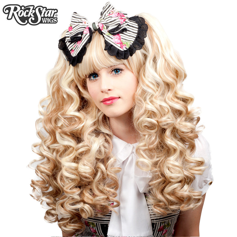 Gothic Lolita Wigs® <br> Baby Dollight™ Collection - 00007 Crème de la Crème