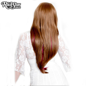 RockStar Wigs® <br> Downtown Girl™ Collection - Light Brown & Burgundy- 00153