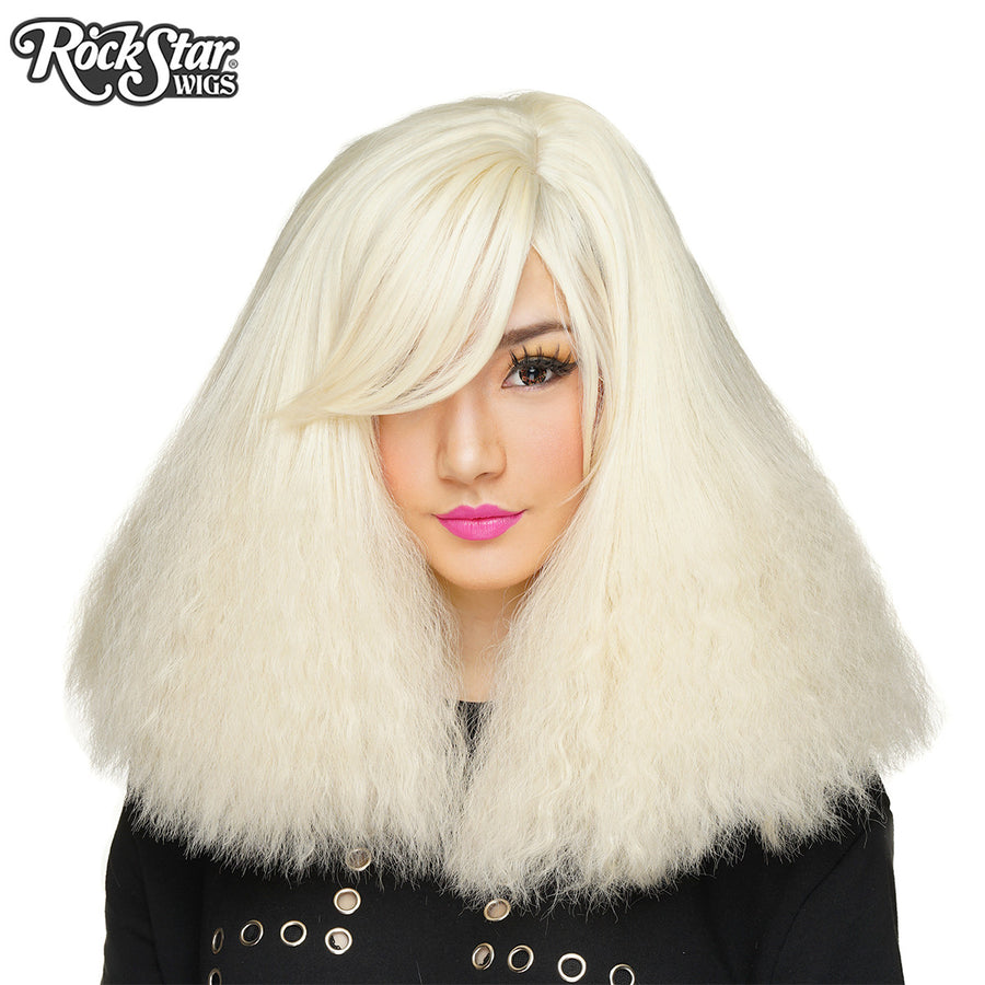 RockStar Wigs® <br> Dynamite™ Collection - Platinum Blonde Blast- 00168