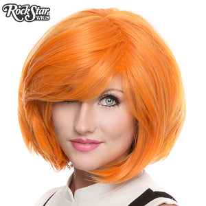 "RockStar Wigs® <br> Hologram 12"" - Pumpkin Mix -00665"
