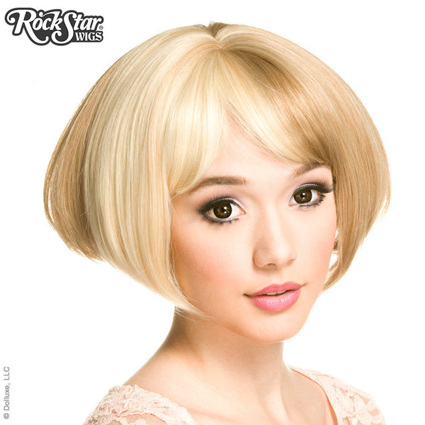 Gothic Lolita Wigs® <br> Lolibob™ - Light Blonde & Milk Tea -00392