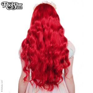 Gothic Lolita Wigs® <br> Classic Wavy Lolita™ Collection - Crimson Red -00038