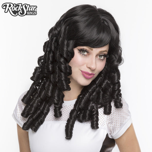 Gothic Lolita Wigs® <br> Ringlet Redux™ Collection - Black -00118