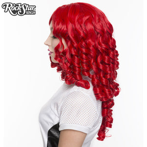 Gothic Lolita Wigs® <br> Ringlet Redux™ Collection - Crimson Red -00121