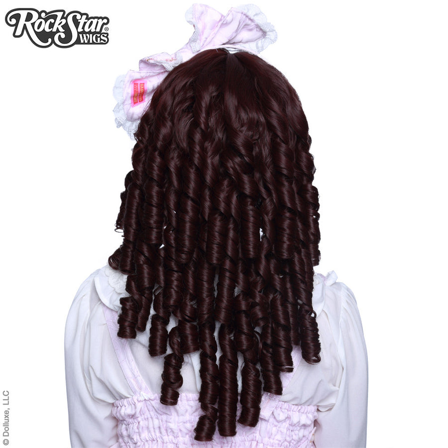 Gothic Lolita Wigs® <br> Ringlet Redux™ Collection - Black Mahogany Burgundy -00505
