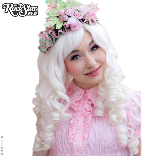 Gothic Lolita Wigs® <br> Ringlet Redux™ Collection - White -00124