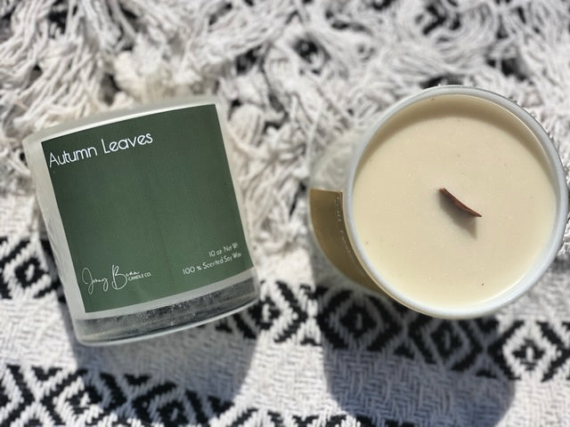 Autumn Leaves Soy Candle