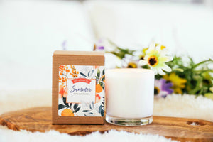 Summer Collection Scented Candle