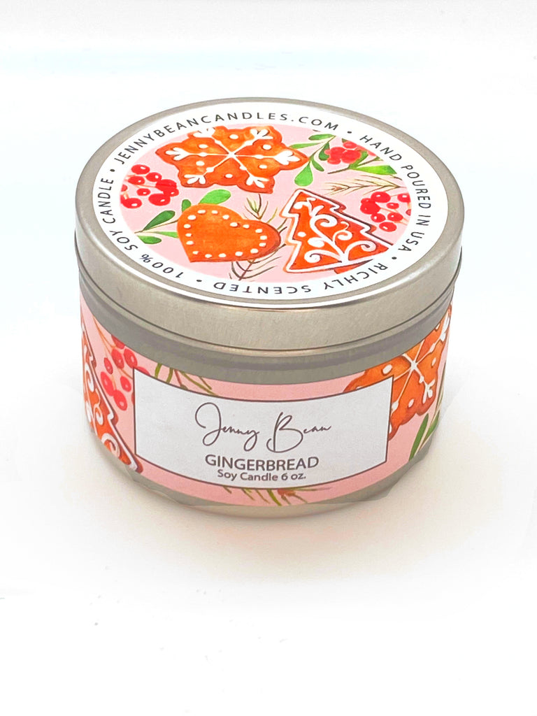 Gingerbread Soy Candle - Jenny Bean