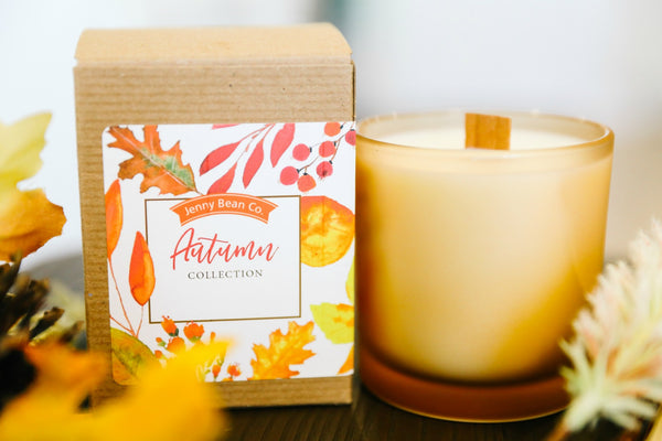Amber Fall Soy  Candle