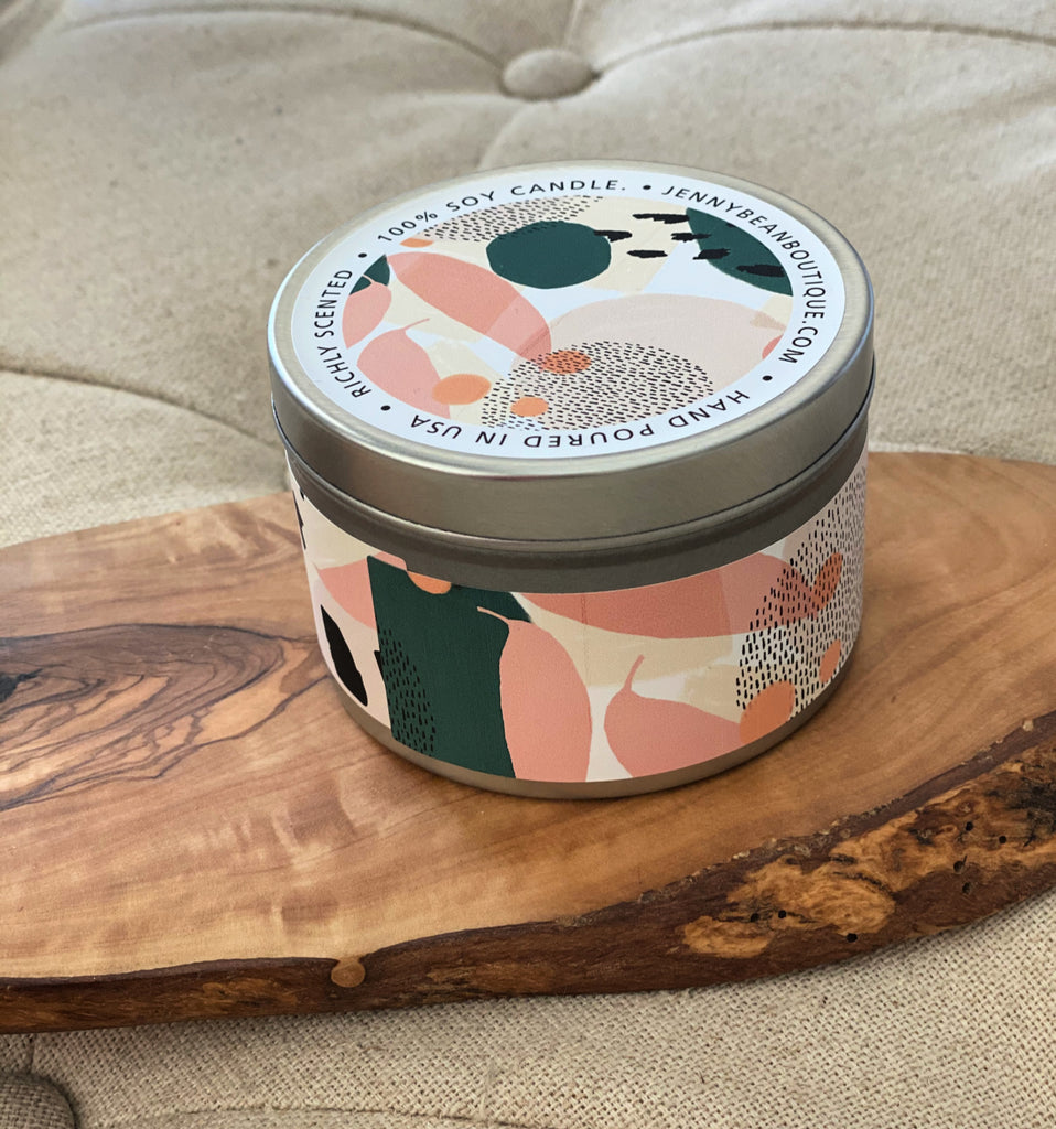 Green Banana and Pink Fig Soy Candle - Jenny Bean