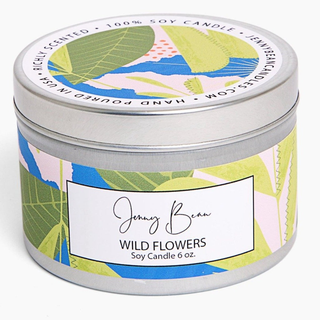 Wildflowers Soy Candle