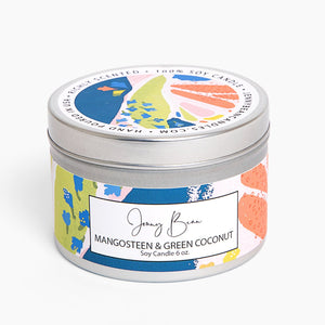 Mangosteen + Green Coconut Soy Candle