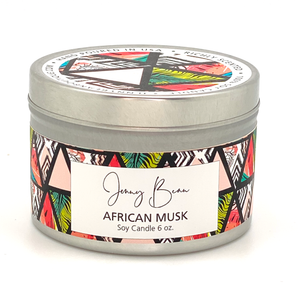 African Musk Soy Candle