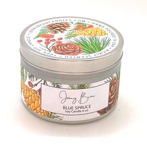 Blue Spruce Christmas Soy Candle