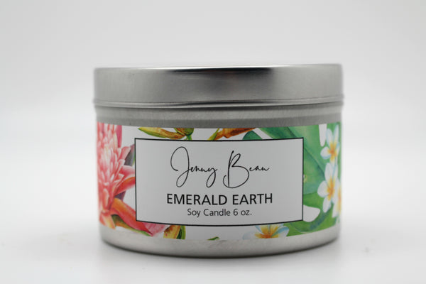 Emerald Earth Soy Travel Tin Candle