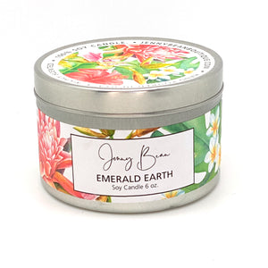 Emerald Earth Soy Candle