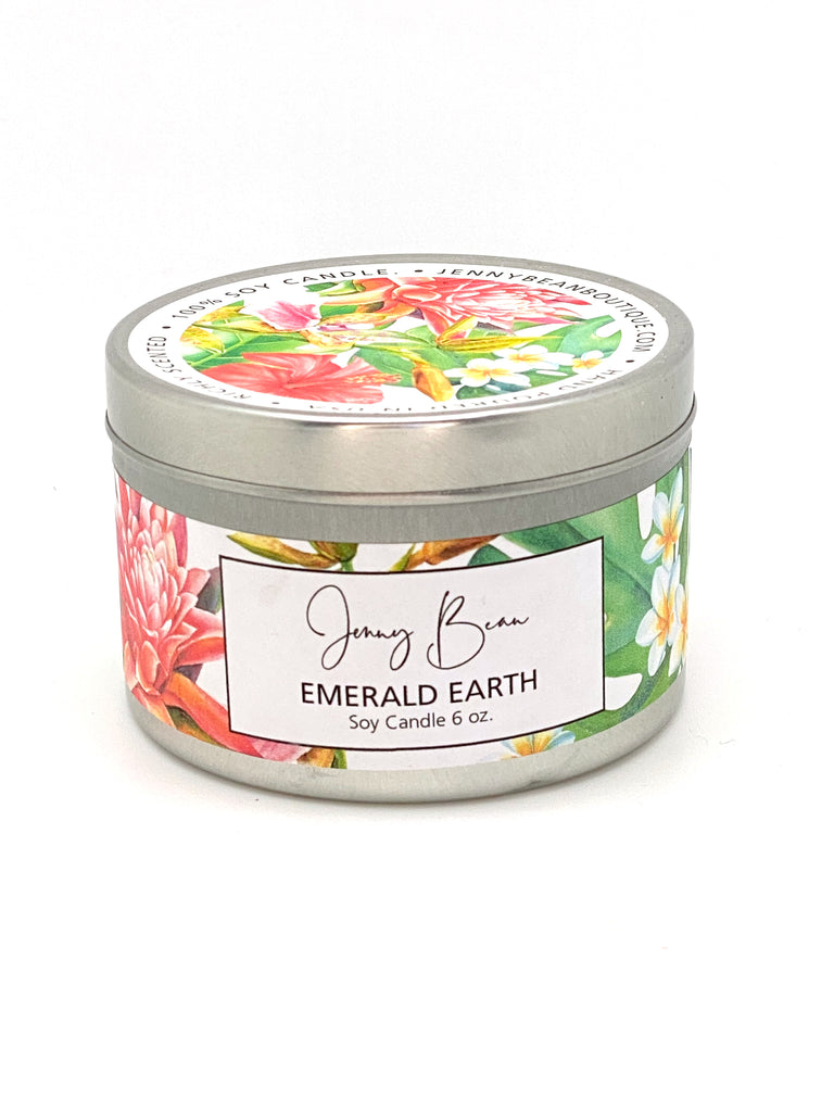 Emerald Earth Soy Candle - Jenny Bean