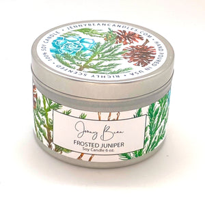 Frosted Juniper Soy Candle