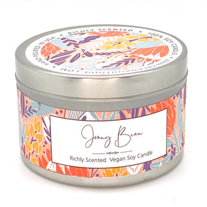 Orchard and Black Amber Soy Candle