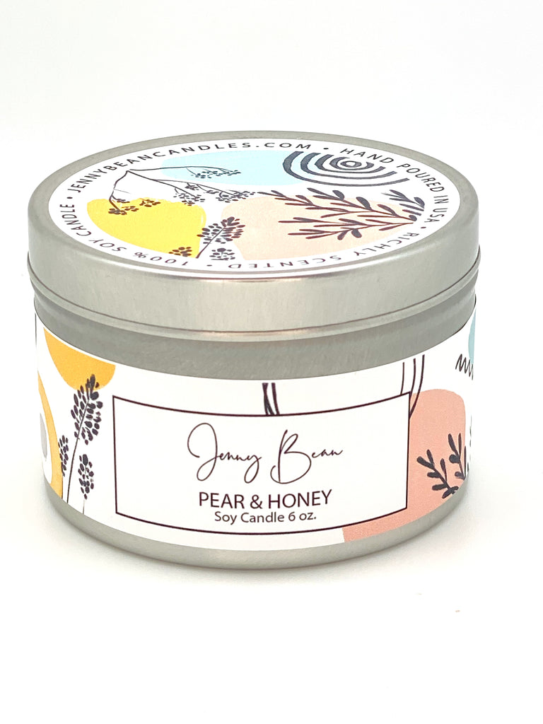 Pear + Honey Soy Candle - Jenny Bean