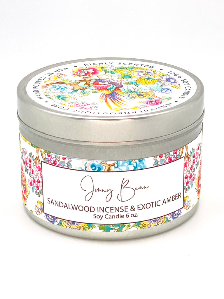 Sandalwood Incense + Exotic Amber - Jenny Bean