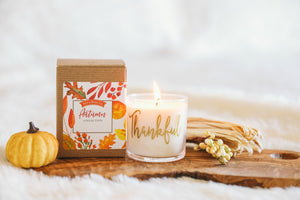 Thankful Autumn Candle