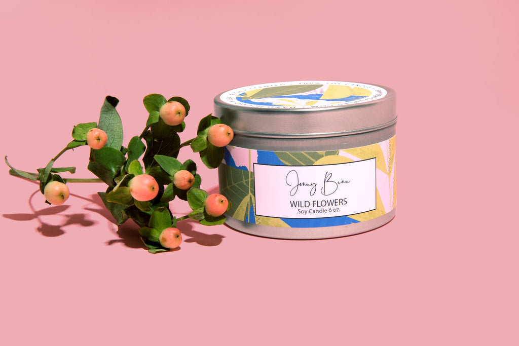 Wildflowers Soy Candle - Jenny Bean