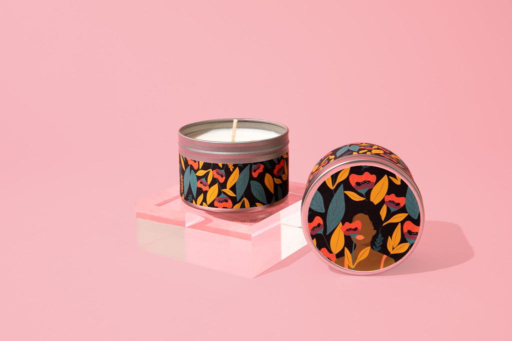 Poppy Bloom Soy Candle