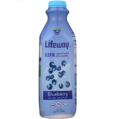 Lifeway Low Fat Blueberry, 32 Oz (Pack of 6)