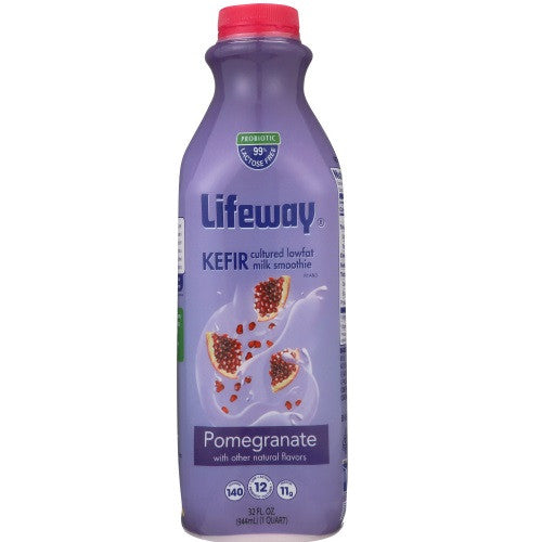 Lifeway Low Fat Pomegranate, 32 Oz (Pack of 6)