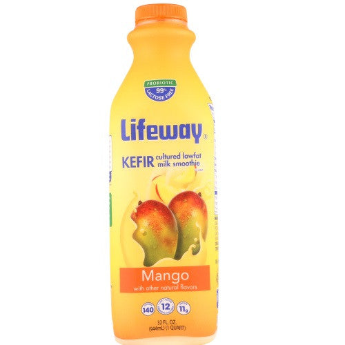 Lifeway Low Fat Mango, 32 Oz (Pack of 6)