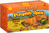 Bigelow Pumpkin Spice Hearty Spiced Tea, 20 BG (Pack of 6)